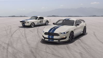 LIMITED-EDITION SHELBY GT350, GT350R HERITAGE EDITION PACKAGE HONORS 55 YEARS OF TRACK-FOCUSED MUSTANG FASTBACK