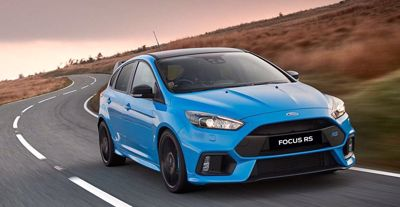 Ford NZ secure 25 Ford Focus RS Limited Edition rocket ships