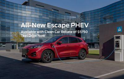 Test Drive The Escape PHEV Now