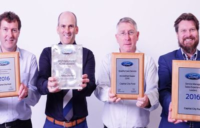Multiple Awards for Capital City Ford!