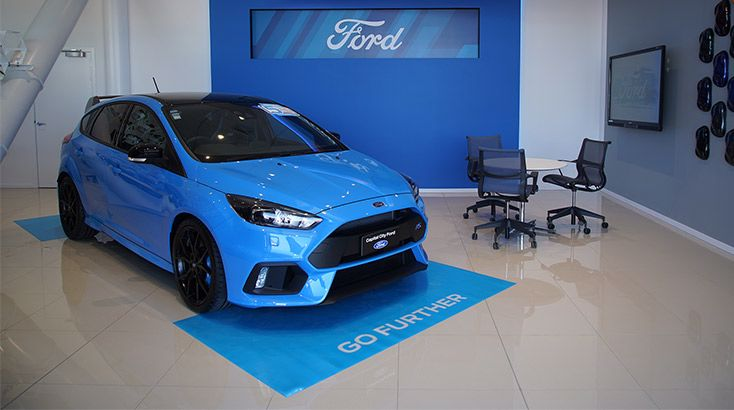The Ford Link Store by Capital City Ford, Ground floor, PWC Centre (waterfront side)