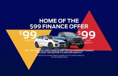 $99 Finance Offer