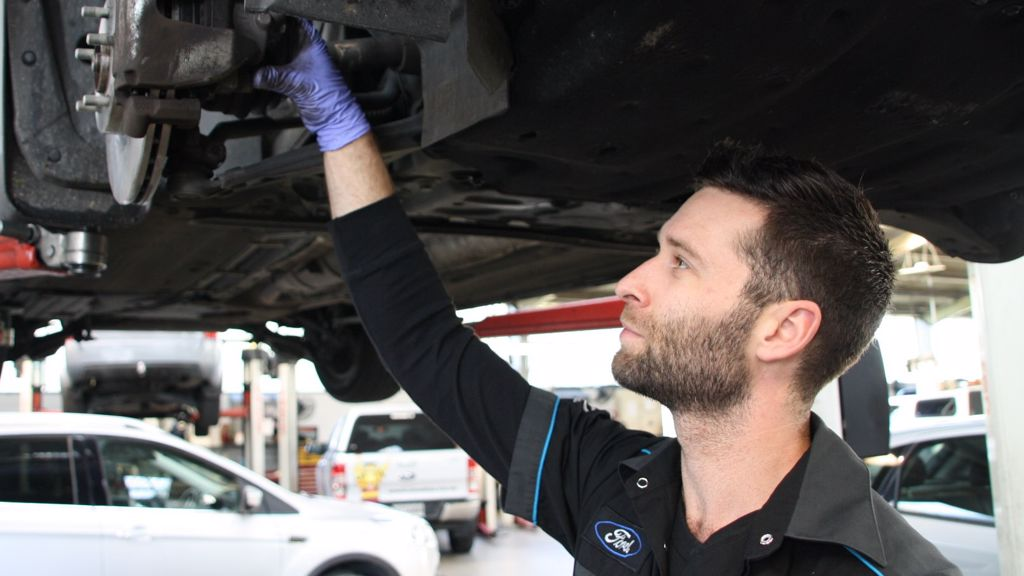 Fairview Motors Ford factory Service
