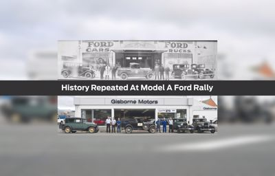 History repeated at Model A Ford rally