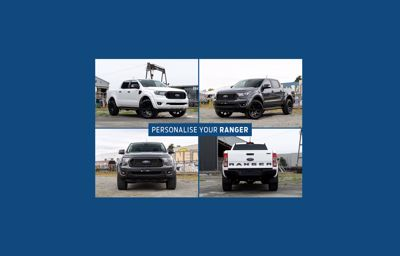 Personalise Your Ranger at Grey Ford