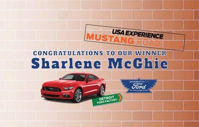 John Andrew Ford announces USA Mustang Road Trip Winner