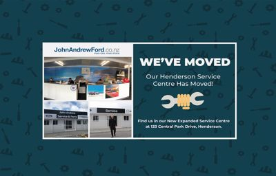 John Andrew Ford West Auckland has moved!