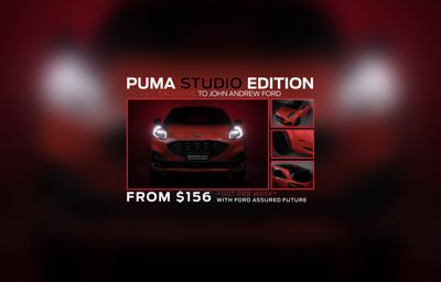 The Puma Studio Edition | From $156 Per Week*