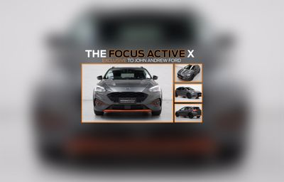The Focus Active X | Exclusive to John Andrew Ford