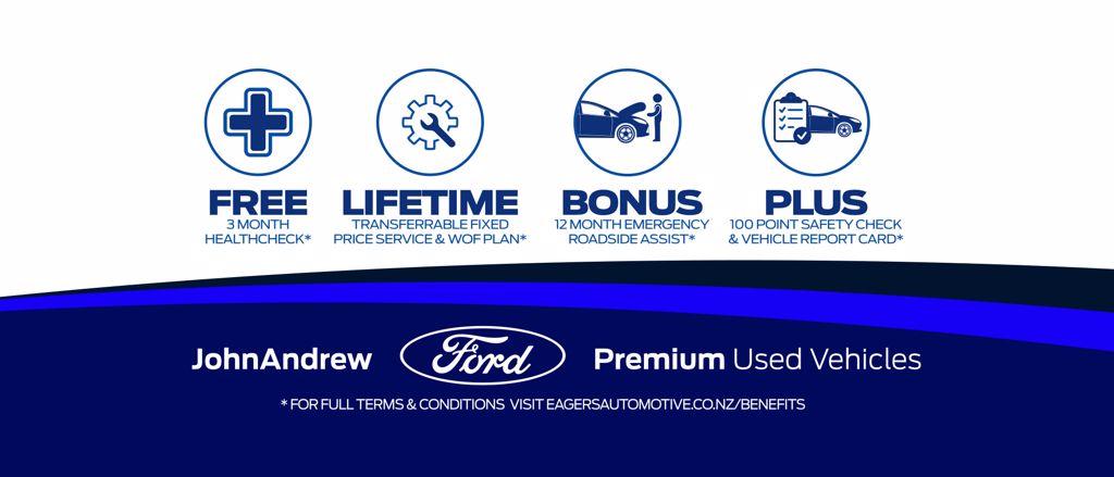 Premium Used Vehicles - John Andrew Ford Auckland