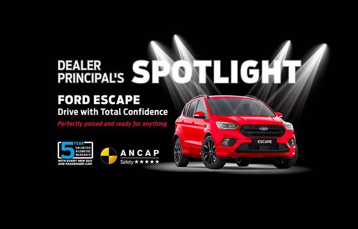 John Andrew Ford Dealer Principal's Spotlight: The Ford Escape