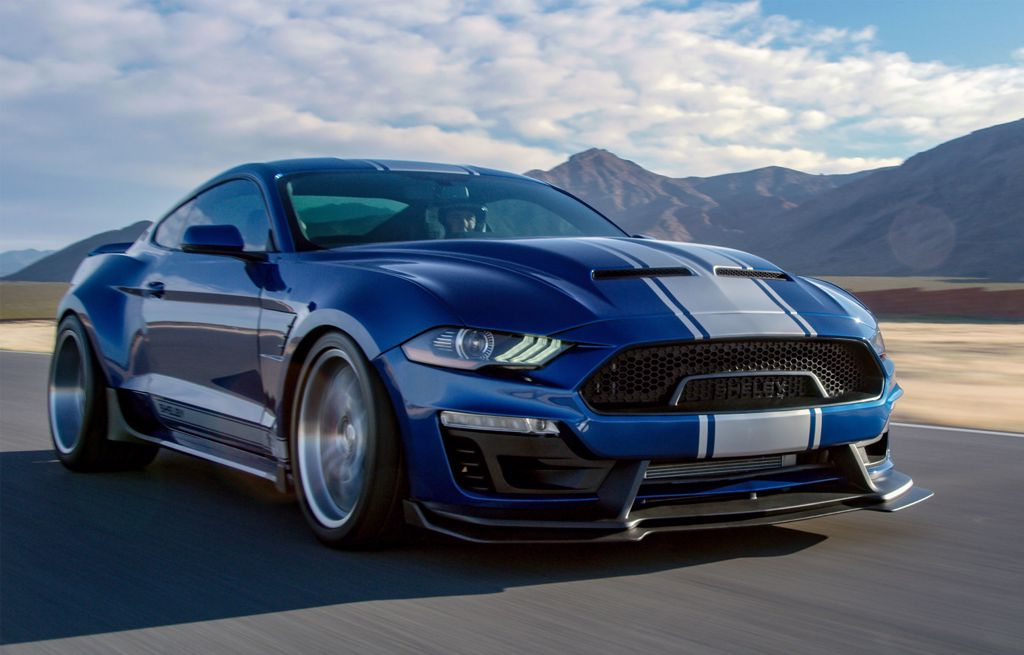 All New Zealand built Ford Shelby vehicles