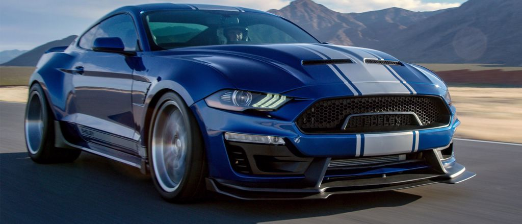 NZ built Ford Shelby vehicles