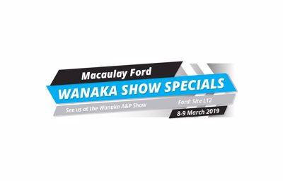 Macaulay Ford proud to be a part of the Wanaka A&P Show