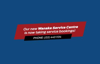 Our new Wānaka service centre is now taking bookings