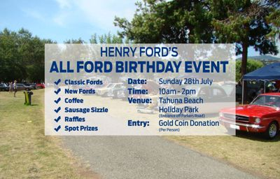 Henry Ford's All Ford Birthday Event