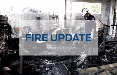 Fire update