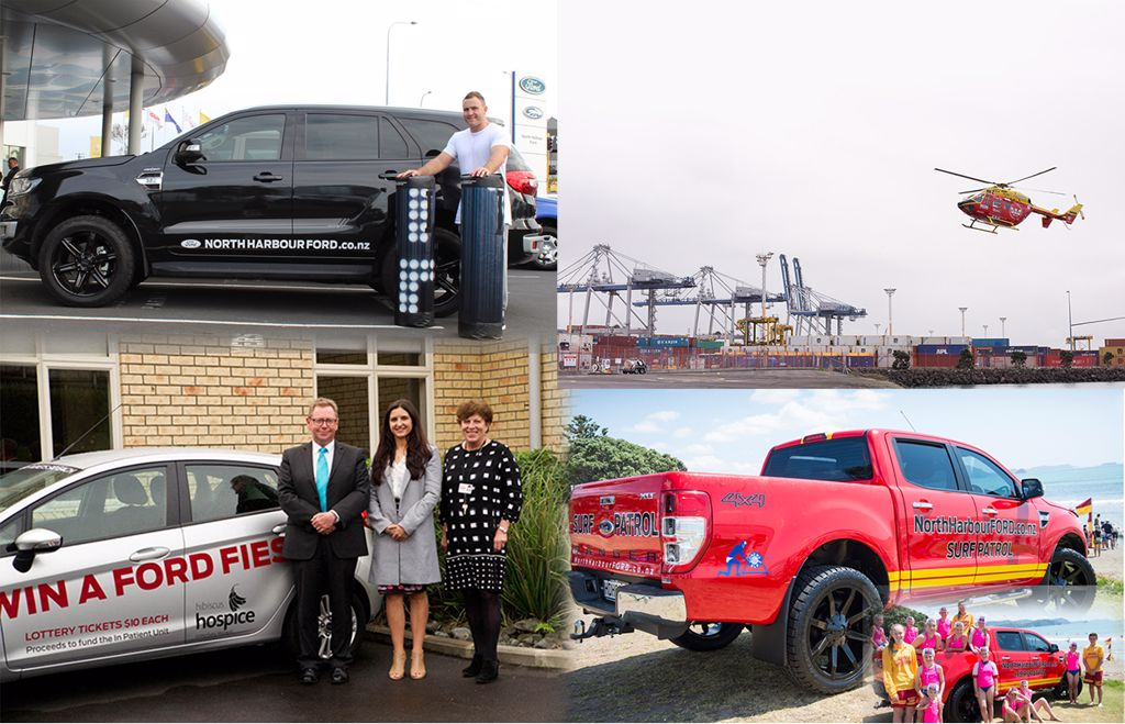 North Harbour Ford  Auckland Sponsorship and community p