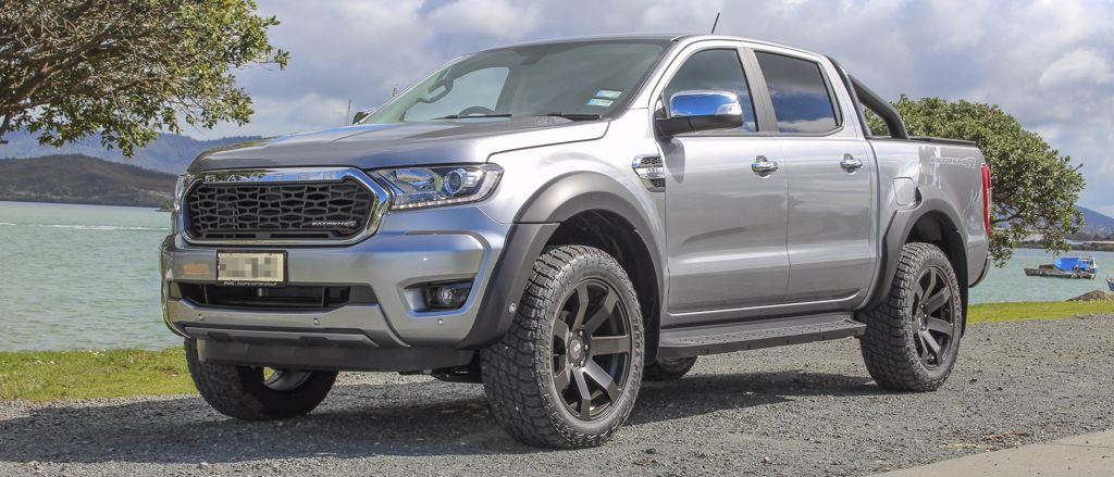 Ford Ranger ExtremeR Silver
