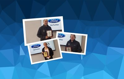 Congratulations to our Ford service team!
