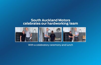 South Auckland Motors Celebrate Our Hardworking Team