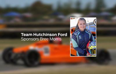 Team Hutchinson Ford sponsors Bree Morris