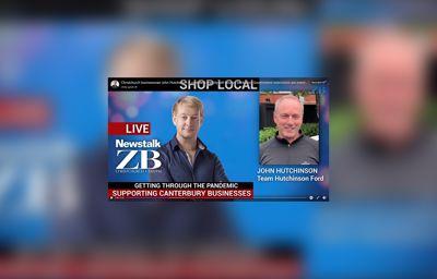 Team Hutchinson Ford on Newstalk ZB with Chris Ryan