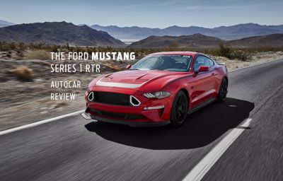 The Ford Mustang Fastback GT  Series 1 RTR