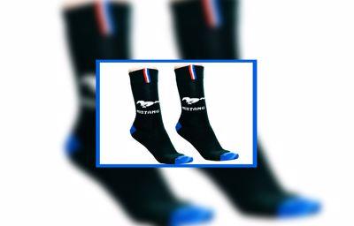 Ford Mustang Merino Wool Socks