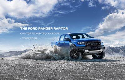 The Ford Ranger Raptor. Top Pickup Truck of 2018.