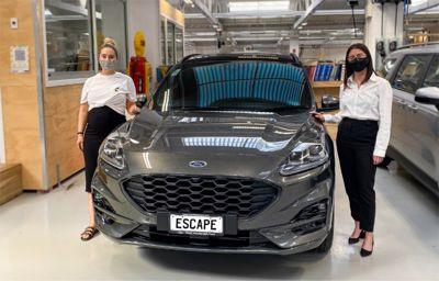 Team Hutchinson Ford Announces new Brand Ambassador – Elle Herself