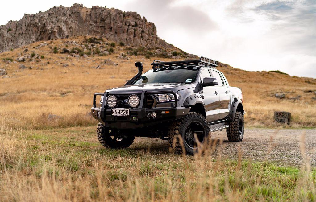 Custom Ford Ranger builds   Team Hutchinson Ford Christchurch