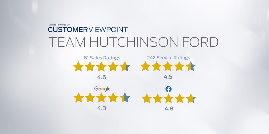 Team Hutchinson Ford customer review page