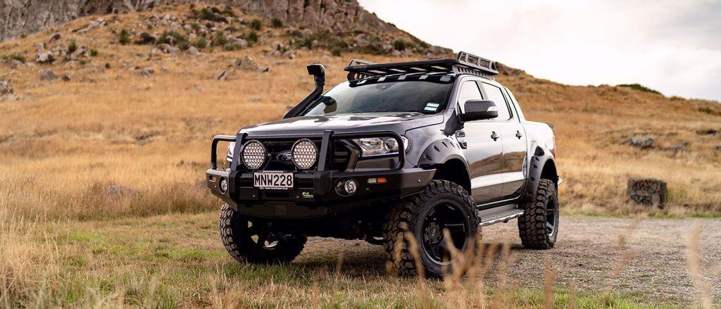 Custom Ford Ranger builds | Team Hutchinson Ford Christchurch
