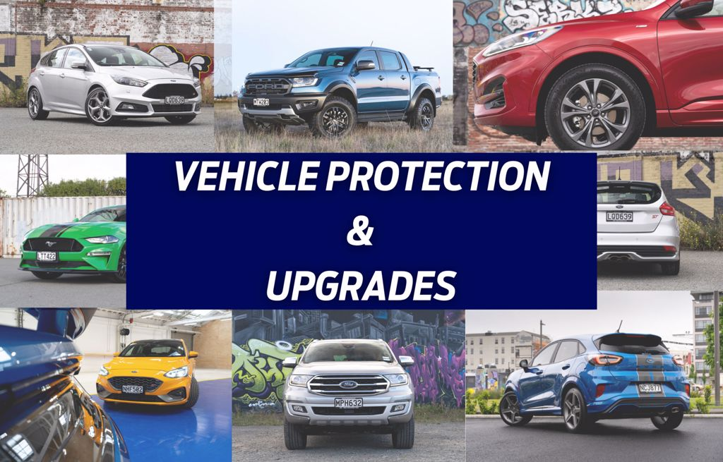 Vehicle Protection & Upgrades | Team Hutchinson Ford Christchurch