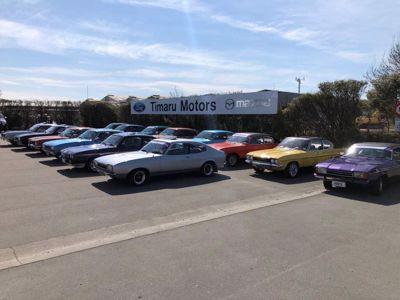 Ford Capri Club NZ Display