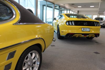 Iconic History in the Showroom
