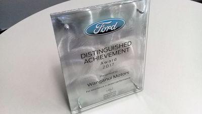 Dealership Awarded