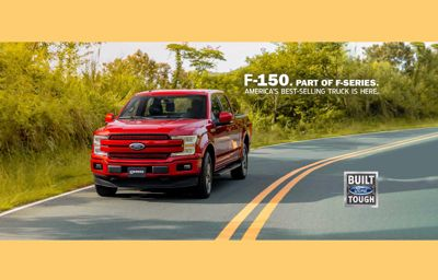 A NEW ARRIVAL. THE NEW FORD F-150