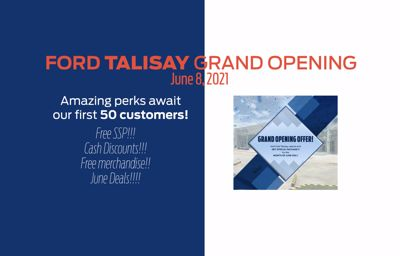 Ford Philippines' 50th dealership facility in Talisay, Cebu now open