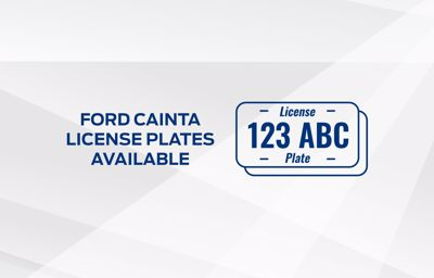 Ford Cainta - Available Plate