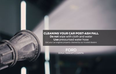 Cleaning your Ford post-ashfall