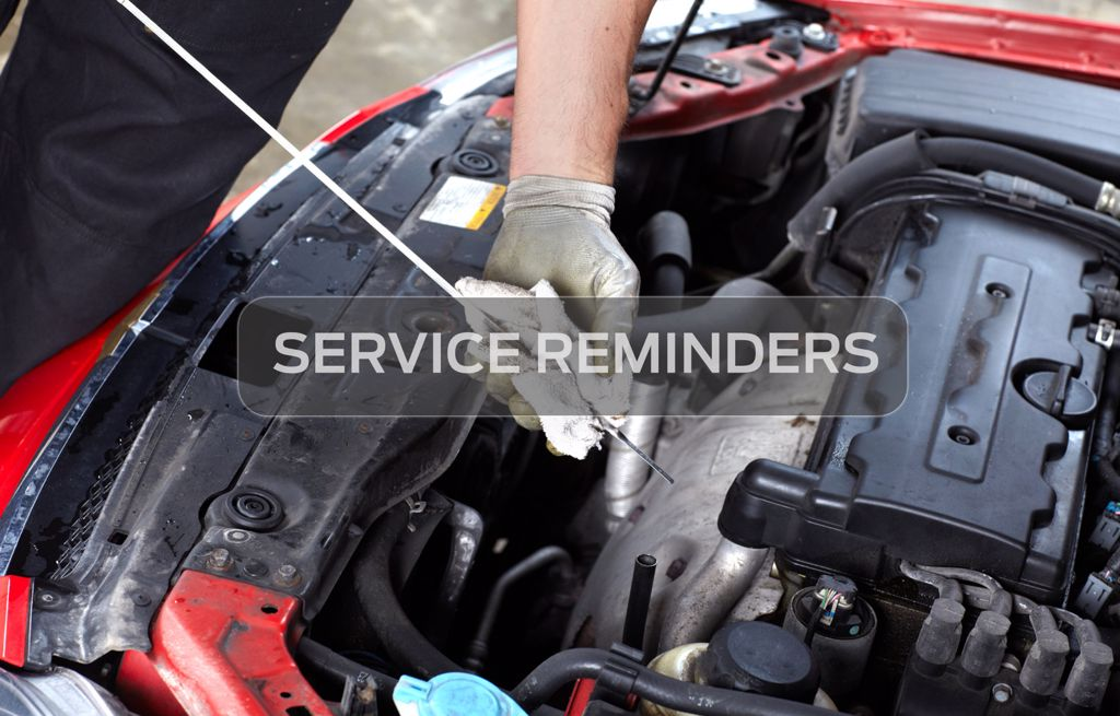 Service Reminders for Ford Car Owners