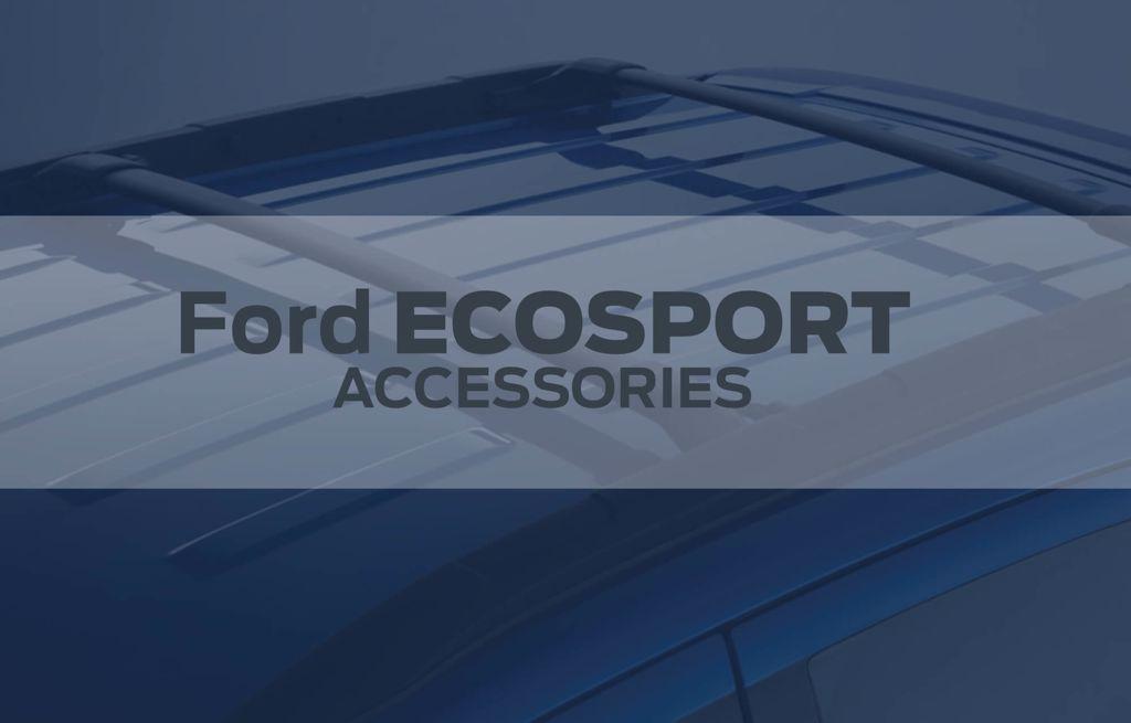EcoSport Scuff Plate