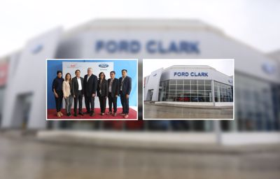 Ford unveils new dealership in Clark