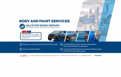 FORD LIBIS PAINT AND BODY SERVICE