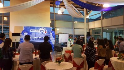 Ford Libis celebrated its 15th Anniversary last October 14, 2016