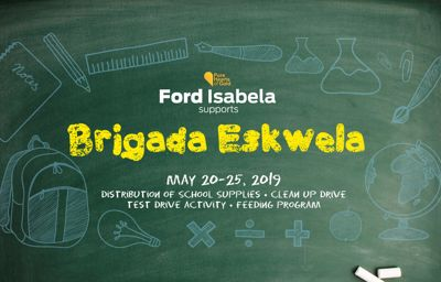 Ford Isabela takes part in Brigada Eskuwela