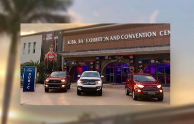 Ford Subic's Big 3 On display at  Century Tuna IRONMAN Philippines
