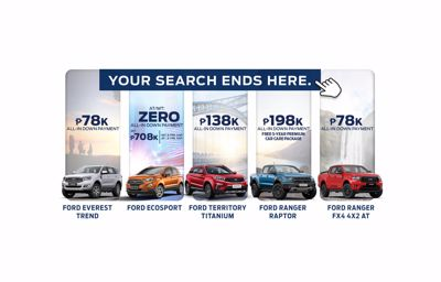 FORD METRO BAGUIO DEALS IN JULY